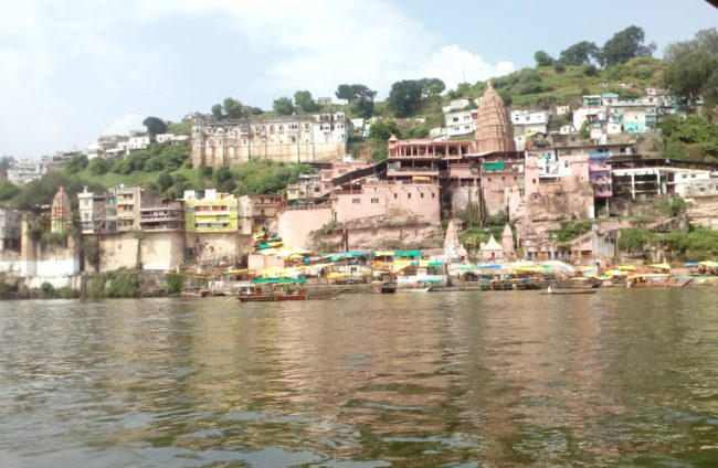 omkareshwar temple near maheshwar
