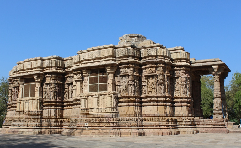 Modhera Sun Temple gujarat architecture