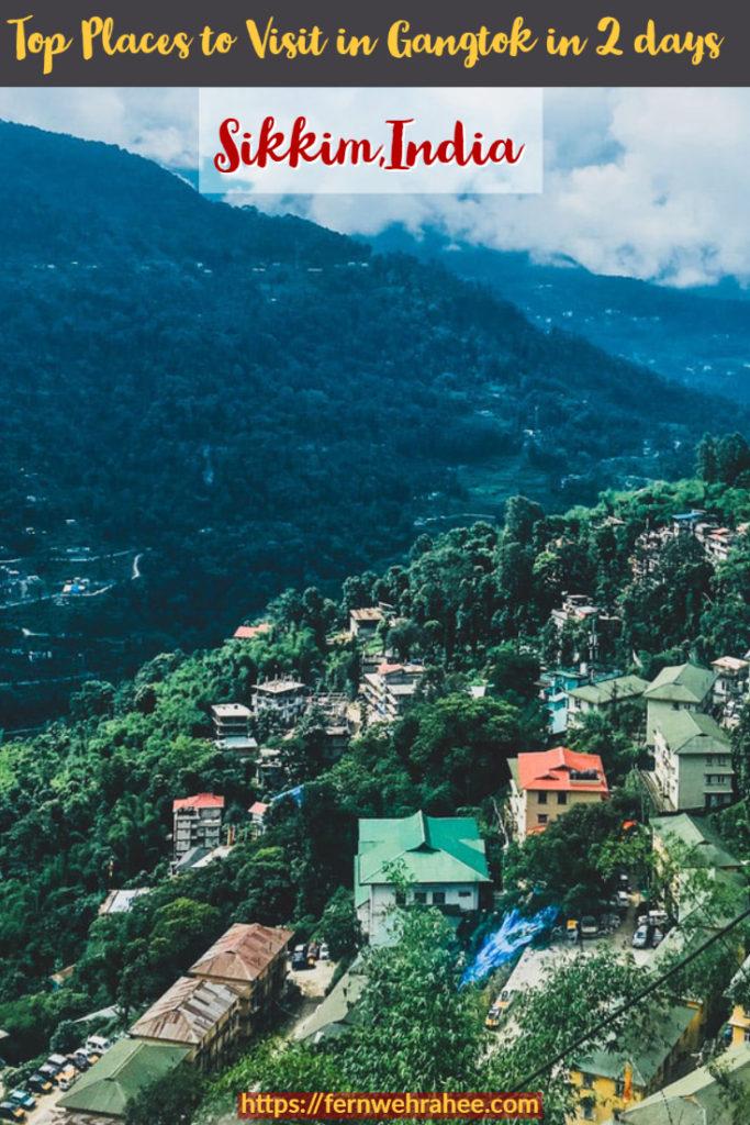 Top Places to Visit in Gangtok in 2 days including Tsomgo Lake #sikkimtravel #gangtok #travelguidesikkim