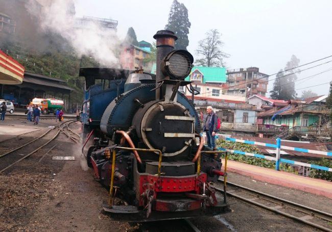 Toy train ride in Darjeeling