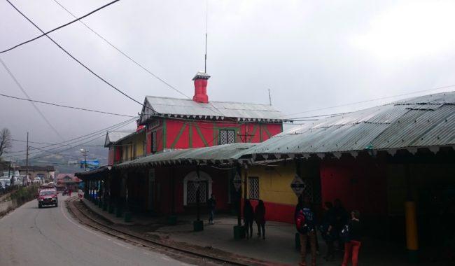 toy train ride Darjeeling stations