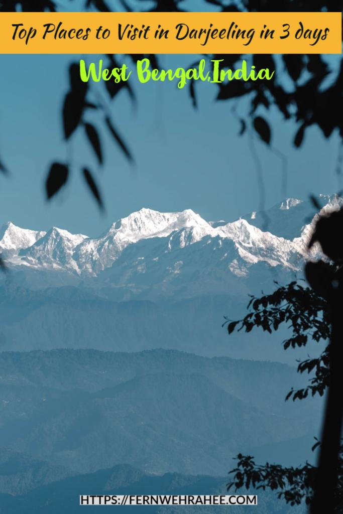 Best Places to Visit in Darjeeling,India