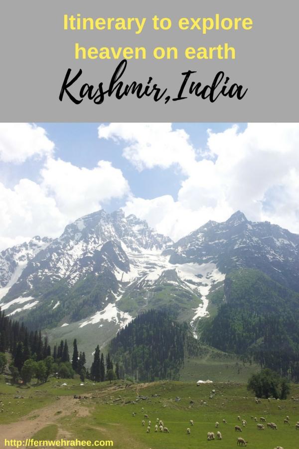 Kashmir 7 days itinerary-Best of Kashmir