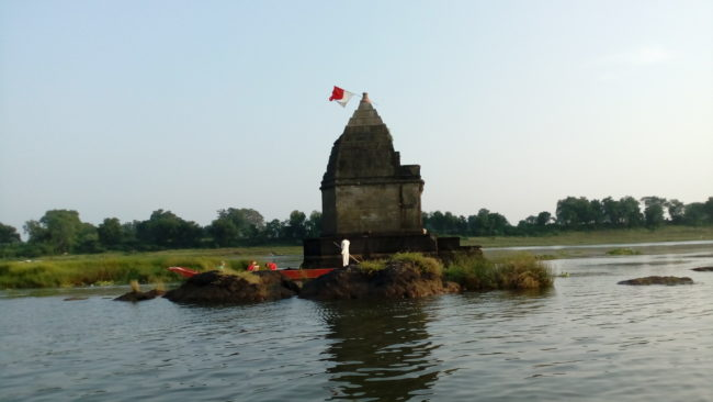 Maheshwar fort and temples