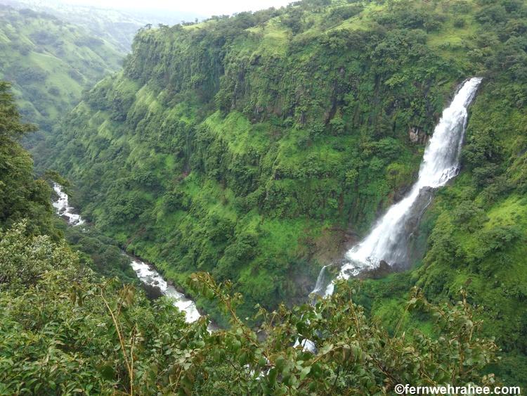 Thosegar waterfall satara