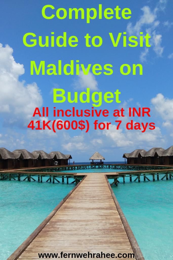Maldives on budget