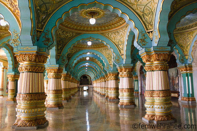 mysore Palace - places to visit in Mysore