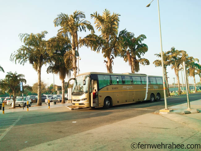 how to reach Mysore by bus