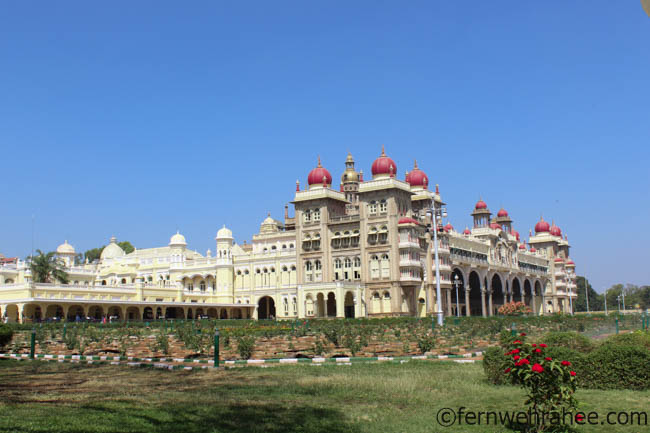 Mysore Palace- places to visit in Mysore