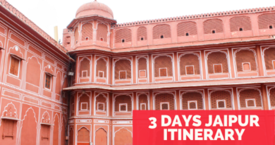 3 days Jaipur itinerary