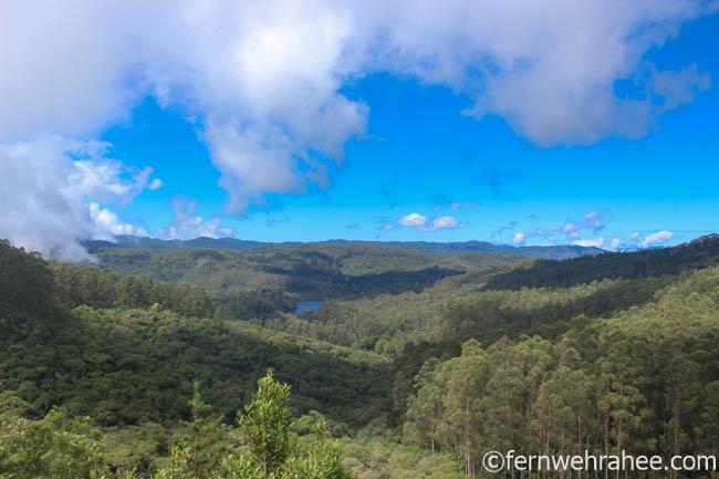 Berijam Lake viewpoints in Kodaikanal