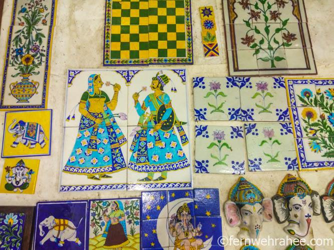 Blue Pottery Jaipur Magnets