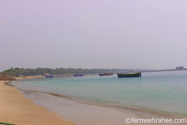 Kunthukal Rameswaram beach