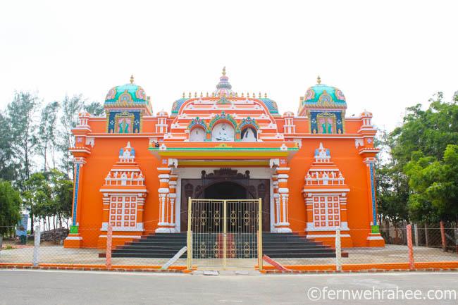 Places to visit in Rameswaram- Vivekananda memorial