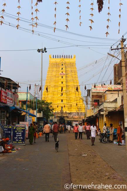 Rameswaram Temple East Gate entry