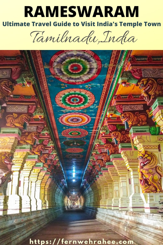 Complete Travel Guide to top things to do in Rameswaram with visit to Dhanushkodi Town. #rameswaramtravel #rameswaramplacestovisit