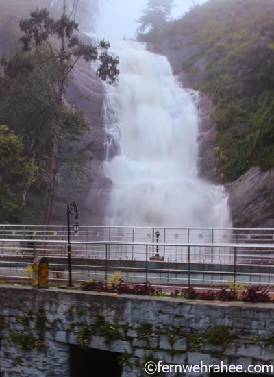 Silver cascade waterfall kodaikanal