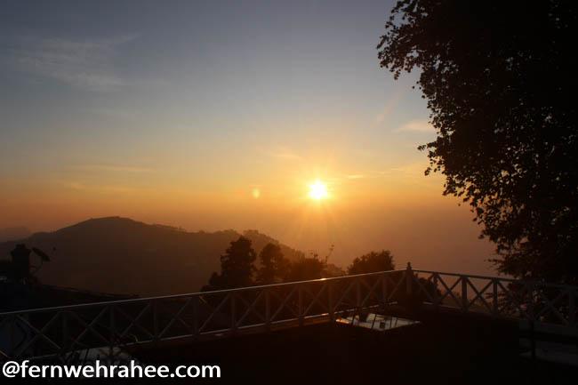 Kodaikanal sunrise viewpoint