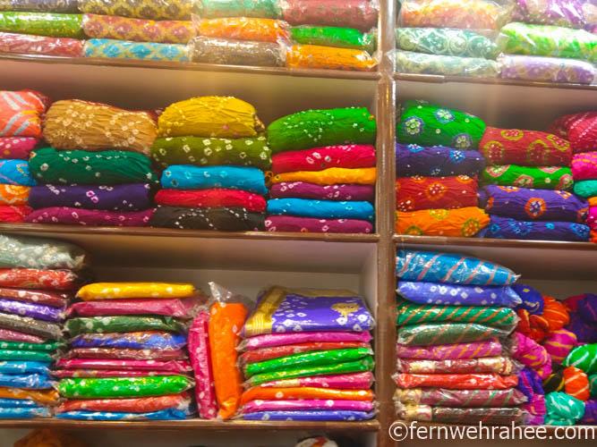 Johari Bazar Jaipur Bandhej dress