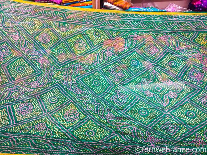 Bhandhej shopping in Jaipur