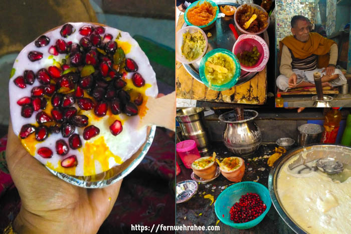 street food Varanasi Blue Lassi Shop