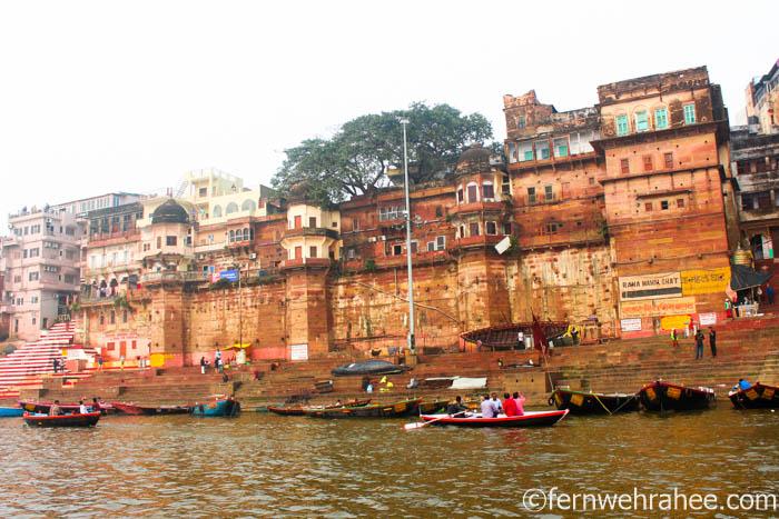 famous ghats of Varanasi