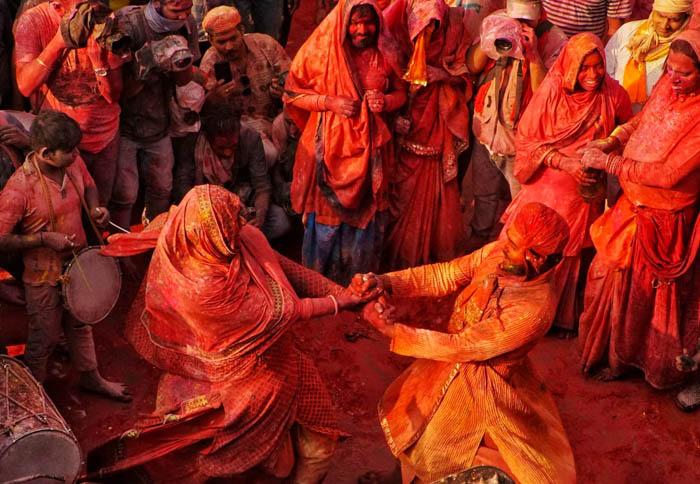 Holi most Popular festivals in India
