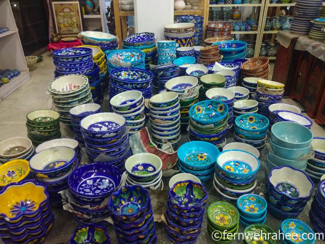 Jaipur Blue Pottery