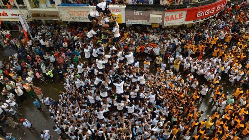 famous festival of India Janmashtami