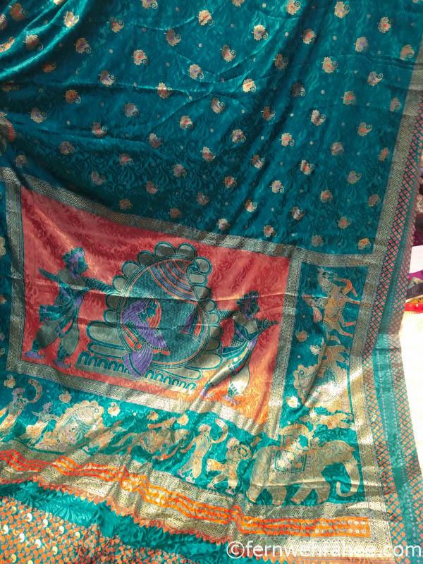 Jaipur specialty Maharani saree
