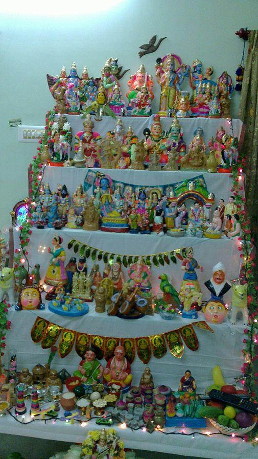 famous festival of south India Navratri Golu