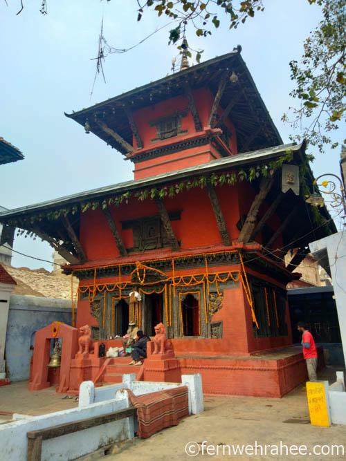 Varanasi Nepali temple