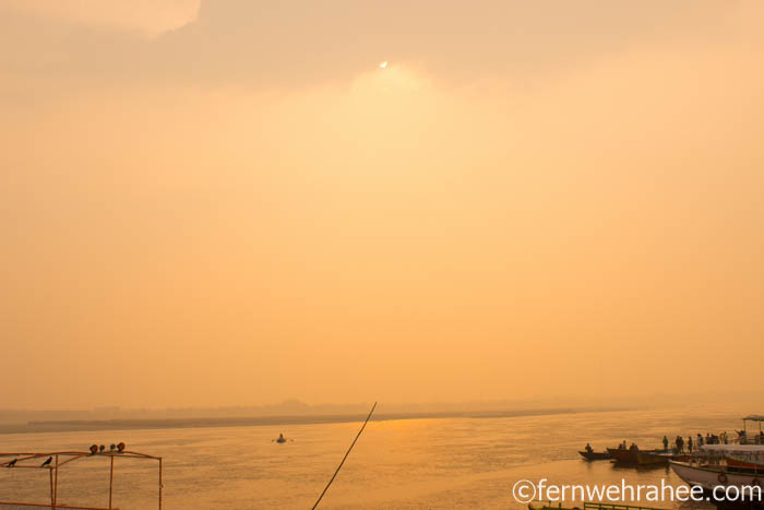 Varanasi sunrise boat tour