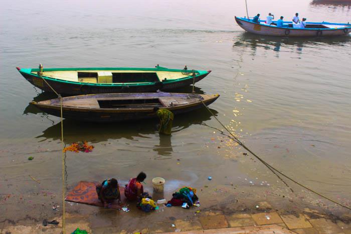 Varanasi ghats walk