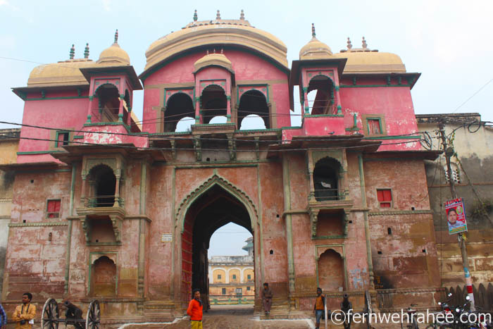 Varanasi attractions Ramnagar fort