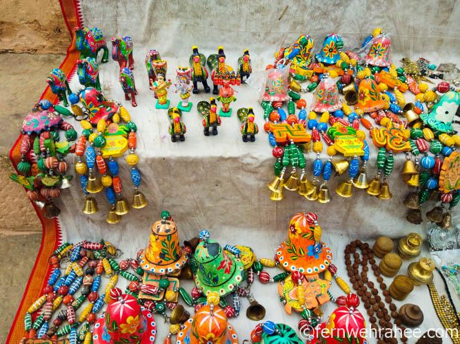 Varanasi shopping wooden toys