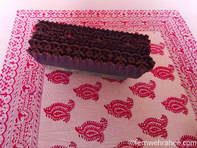 Jaipur shopping block Print textiles