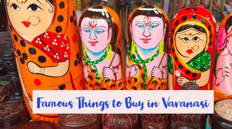 Famous Shopping Places in Varanasi