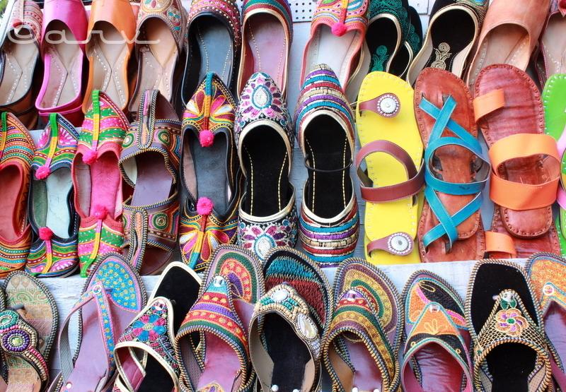 colorful Jaipur Jootis
