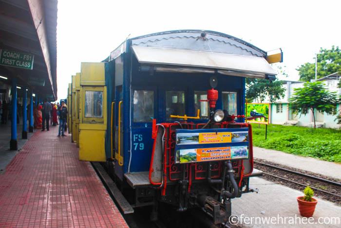 Ooty Mountain railway booking