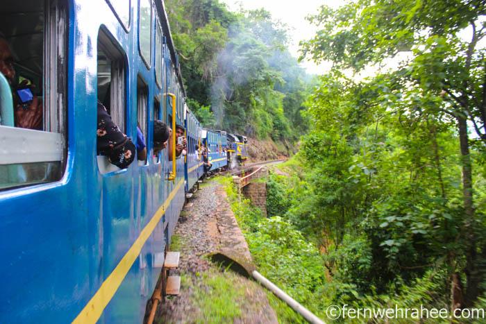 Mettupalayam to Ooty Train journey