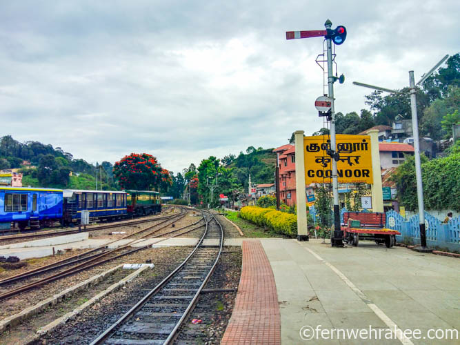 coonoor ooty railway