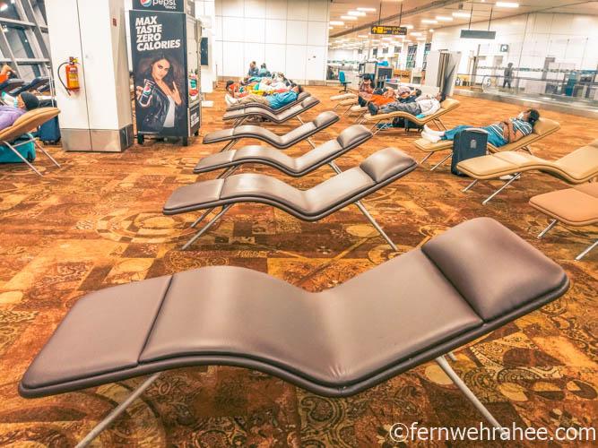 Boarding gate area Delhi airport