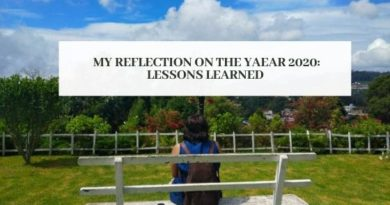 reflections on year 2020- lessons learned