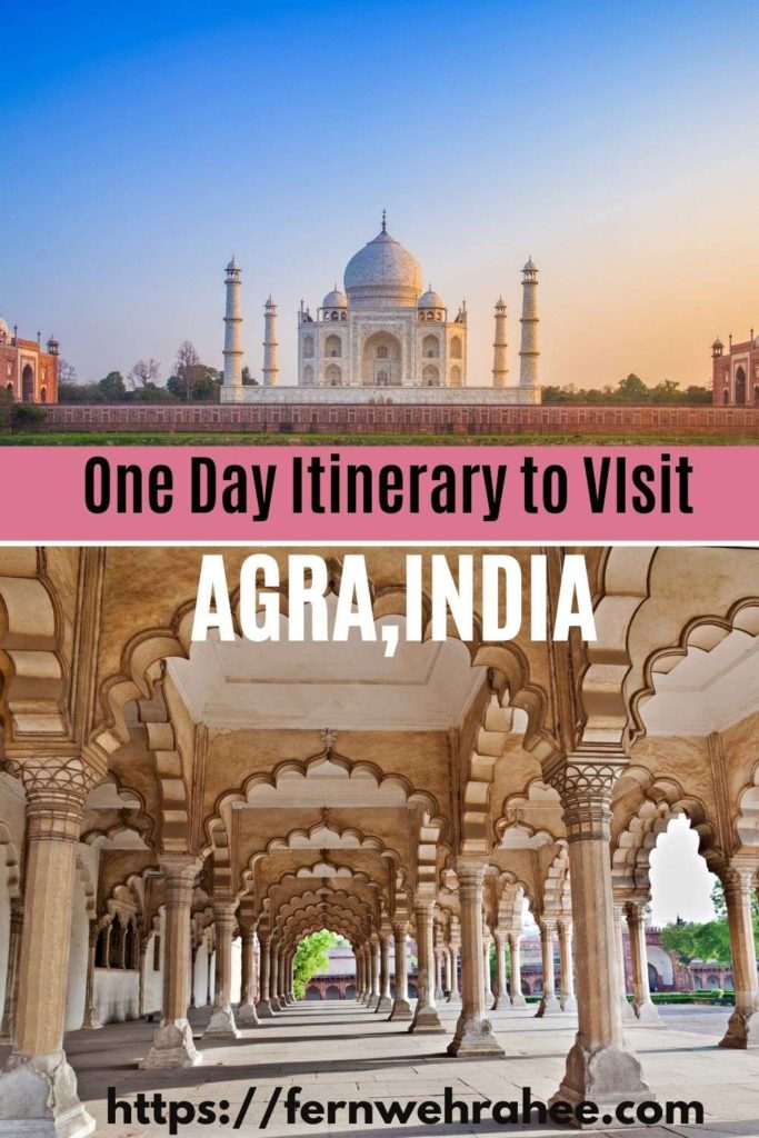 Agra one day itinerary