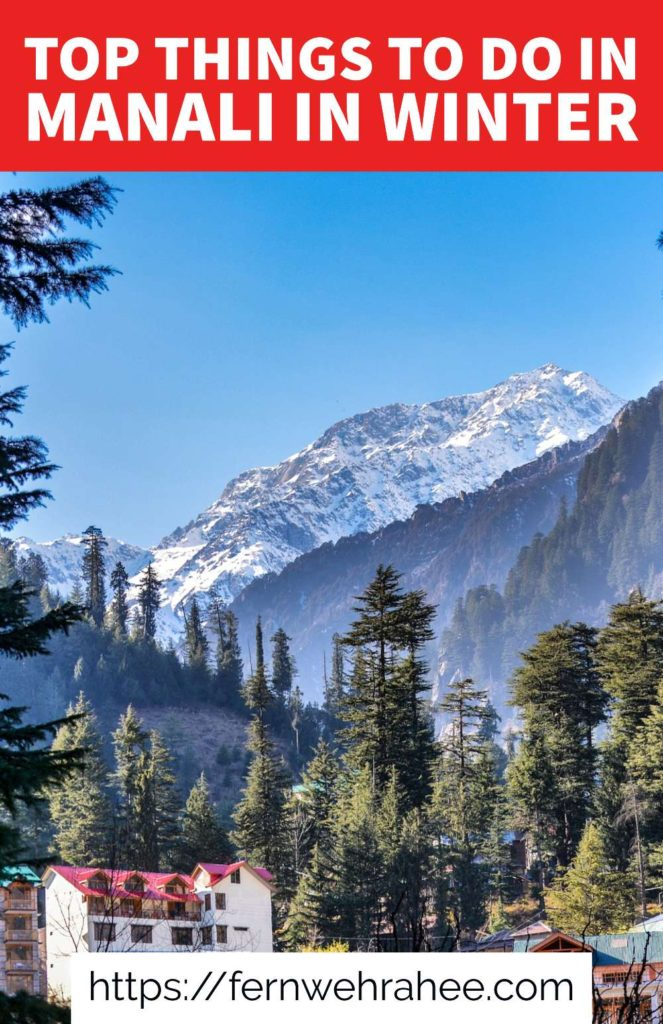 Complete travel guide to visit Manali in winter