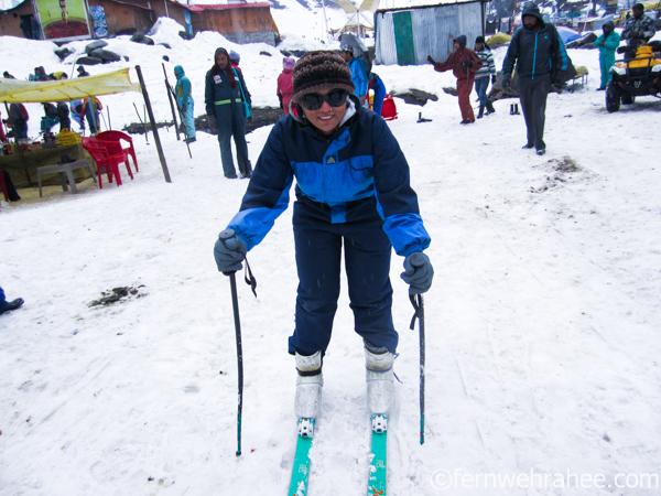 Manali in winter  activities to do