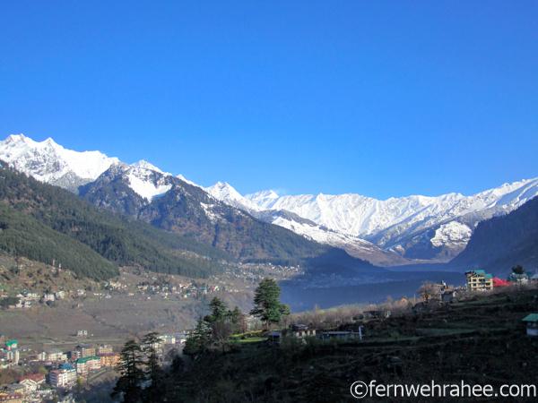 manali visit in january winter season